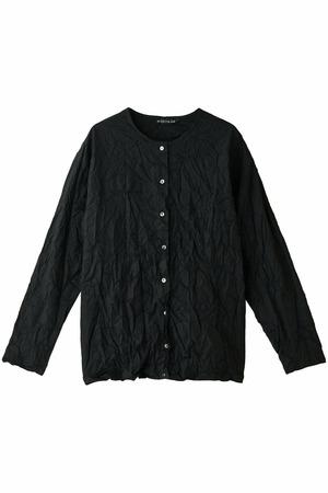 ワッシャープリーツシャツ ミズイロインド/mizuiro ind