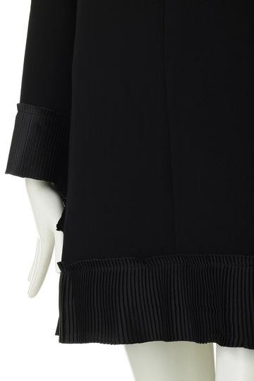 ヴィクトリア ヴィクトリア・ベッカム/Victoria Victoria Beckhamのプリーツ切替ドレス(ブラック/DRVV 680 PAW19)