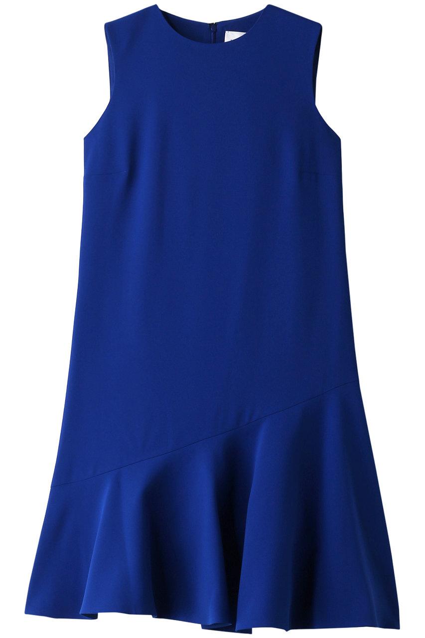 ヴィクトリア ヴィクトリア・ベッカム/Victoria Victoria Beckhamのフレアヘムシフトドレス(アトランティックブルー/2419WDR000191A)