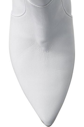 ネブローニ/NEBULONI E.のショートウエスタンブーツ(ホワイト/6306)