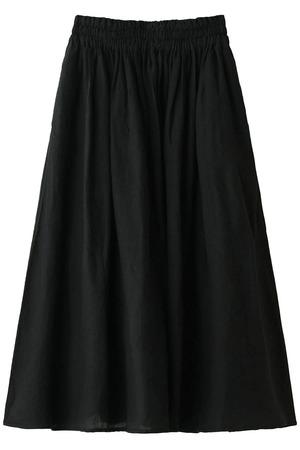 リネンウエストシャーリングスカート ネストローブ/nest Robe
