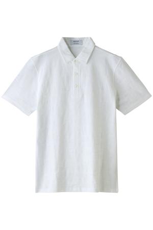 【MEN】カモフラジャカード共地衿ポロシャツ ビー ピー キュー シー/BPQC