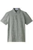 【MEN】カモフラジャカード共地衿ポロシャツ BPQC