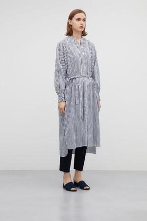 コットンシャツドレス