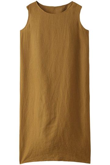 ビー ピー キュー シー/BPQCのリトアニアリネン ノースリーブドレス(サンド/BP91FSN004)