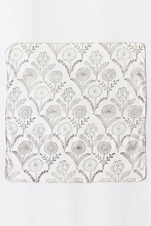 【UNISEX】Woodblock Print Handkerchief ズアントゾウケイ/ZUAN & ZOKEI by Makoto Kagoshima