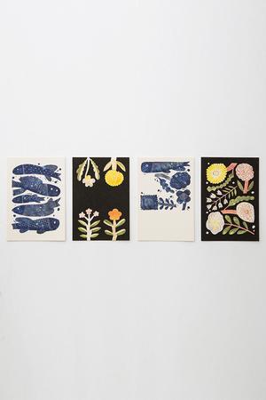 【UNISEX】Post Card ズアントゾウケイ/ZUAN & ZOKEI by Makoto Kagoshima