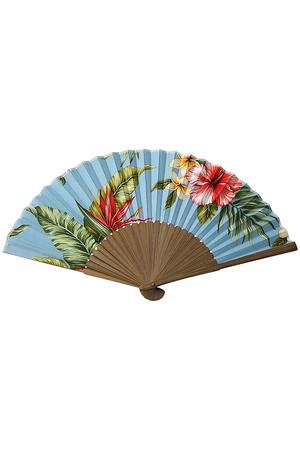 Hawaii Fabric扇子 ニシカワショウロクショウテン/西川庄六商店