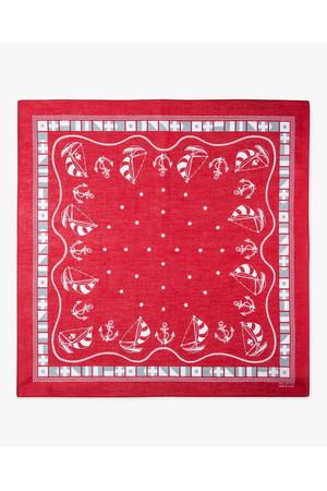 【MEN】【Red Fleece】GF ノーティカルプリント バンダナ ブルックス ブラザーズ/Brooks Brothers