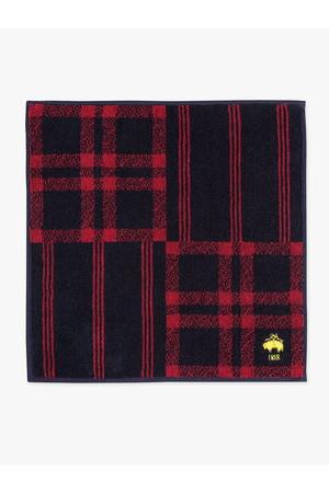 【MEN】【Red Fleece】スーピマコットン GF プレード/ストライプ ミニタオル ブルックス ブラザーズ/Brooks Brothers