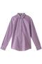 【Red Fleece】ストレッチコットン ポプリン ギンガムチェックシャツ ブルックス ブラザーズ/Brooks Brothers パープル