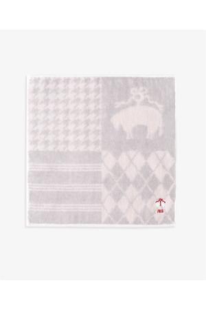 【Red Fleece】スーピマコットン GF 4パネル ミニタオル ブルックス ブラザーズ/Brooks Brothers