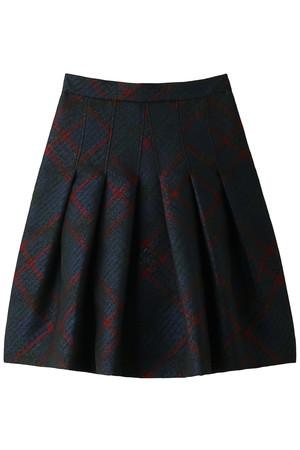 シグネチャータータンジャカード ソフトプリーツスカート ブルックス ブラザーズ/Brooks Brothers
