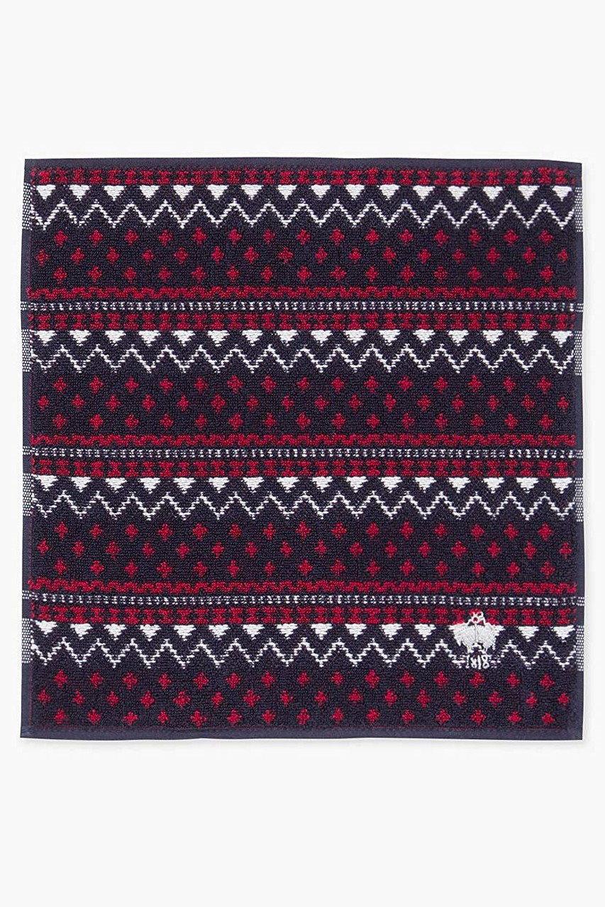 Brooks Brothers ブルックス ブラザーズ メンズ(MENS)【V】【Red Fleece】スーピマコットン GF フェアアイル ミニタオル ネイビー