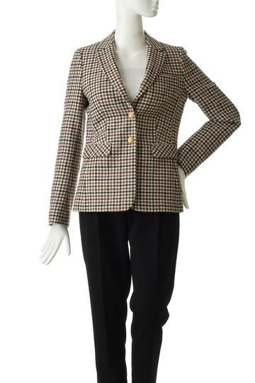 ブルックス ブラザーズ/Brooks Brothersの【Red Fleece】ウールツイード ガンクラブチェック シングル2ボタンジャケット(ブラウンマルチ/60428280)