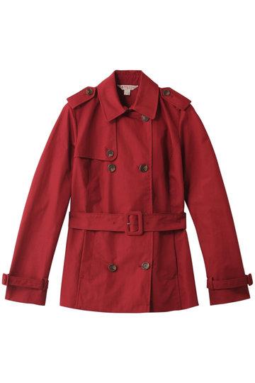 Brooks Brothers ブルックス ブラザーズ 【Red Fleece】 ショートトレンチコート レッド