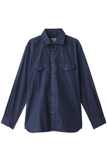 Brooks Brothers ブルックス ブラザーズ メンズ(MENS)【Red Fleece】コットンツイル ガーメントダイ スポーツシャツ ネイビー