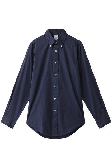 Brooks Brothers ブルックス ブラザーズ メンズ(MENS)GF コットンツイル ガーメントダイ スポーツシャツ Regent Fit ネイビー