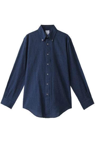 Brooks Brothers ブルックス ブラザーズ メンズ(MENS)コットン GF インディゴ ドビーストライプ スポーツシャツ Regent Fit インディ..