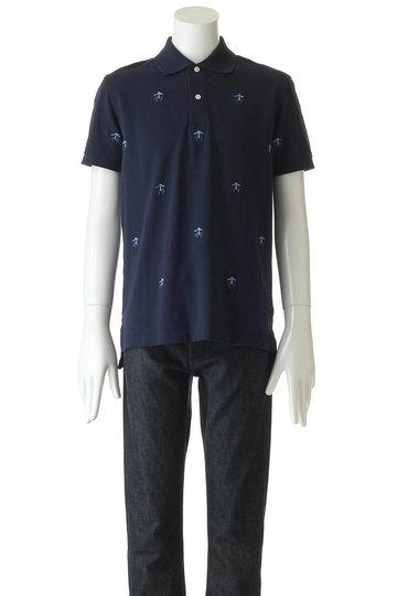 ブルックス ブラザーズ/Brooks Brothersの【MEN】コットンピケ GFエンブロイダリー パフォーマンス ポロシャツ Slim Fit(ネイビー/32717770)