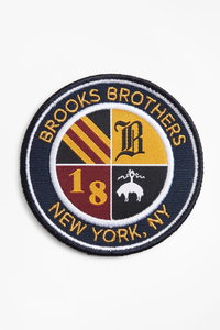<ELLE SHOP> Brooks Brothers ブルックス ブラザーズ メンズ(MENS)Brooks Brothers エンブレム パッチ ネイビー/マルチ画像