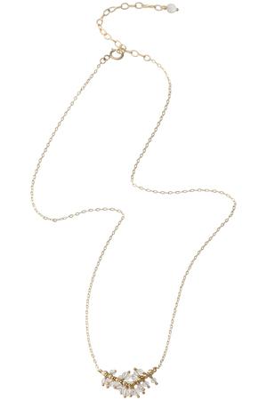 クォーツデューY字ネックレス(4月誕生石)