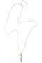 ドリーミング オパールロングネックレス(10月誕生石) ナチュラリ ジュエリ/NATURALI JEWELRY オパール