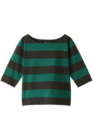 ボーダーロングスリーブTシャツ アニエスベー/agnes b.
