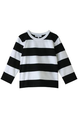 【Kids】ボーダーロングスリーブTシャツ アニエスベー/agnes b.