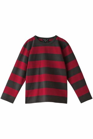 【Kids】ボーダーロングスリーブTシャツ