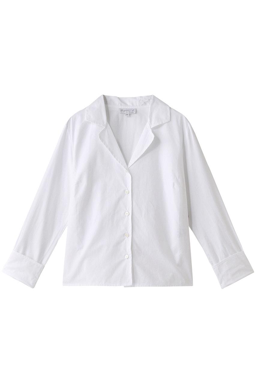 agnes b. アニエスベー シャツ ホワイト