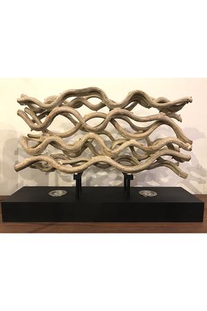 【メーカー取り寄せ】【Flam&Luce】流木ワイドテーブルランプ デザインスタジオ ウッド/DESIGN STUDIO WOOOD