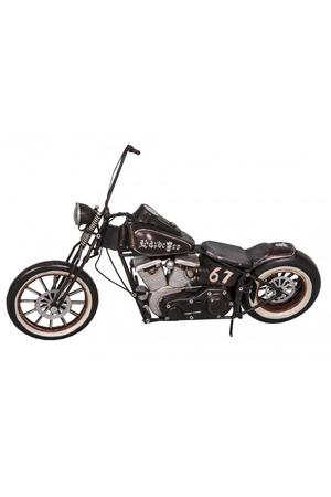 【Antic line】ブリキオブジェ バイク