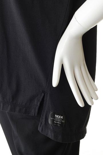 ティッカ/TICCAのNO刺繍Tシャツ(NO5 チャコール/0291426385)