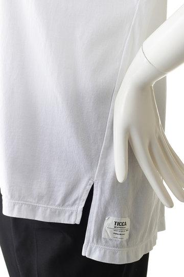 ティッカ/TICCAの【予約販売】NO刺繍Tシャツ(NO7 ホワイト/0291426384)