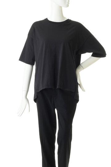 ティッカ/TICCAのNO刺繍Tシャツ(NO24 チャコール/0291426384)