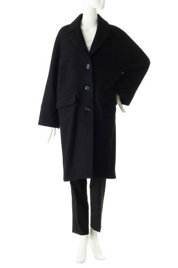 ティッカ/TICCAの【予約販売】シングルコクーンコート(ブラック/0293410162)