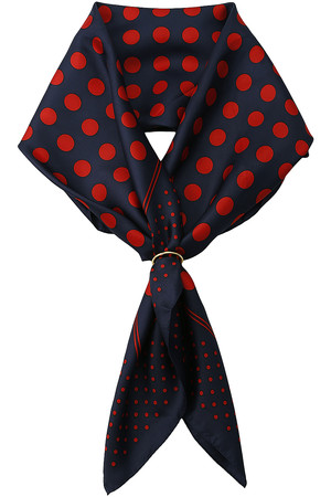 【予約販売】リング付シルクスカーフ