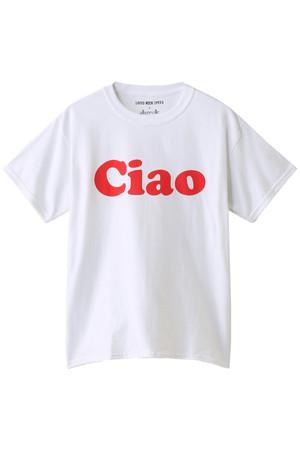 【予約販売】【GOOD ROCK SPEED x allureville】CIAOロゴTシャツ