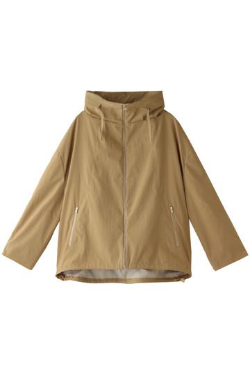 アルアバイル/allurevilleのポリエステルタッサーフードジャケット(ライトベージュ/2018201002095020)