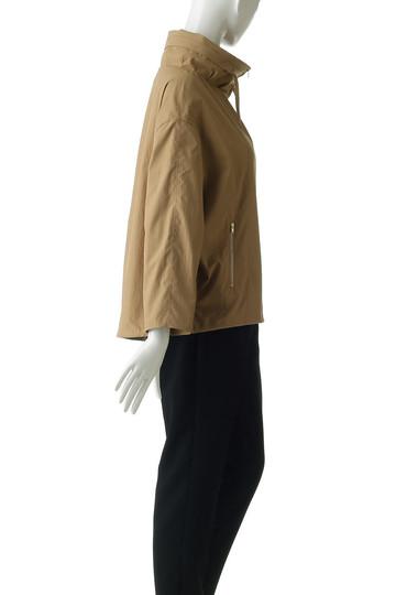 アルアバイル/allurevilleのポリエステルタッサーフードジャケット(ブラック/2018201002095020)