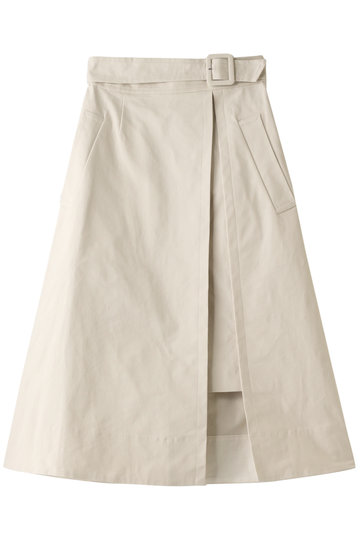 アルアバイル/allurevilleのオックスレイヤードスカート(ライトベージュ/2019101109012020)