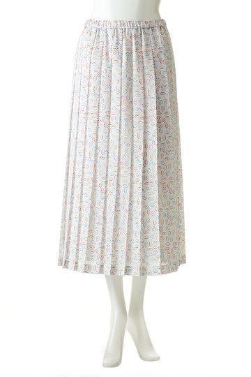 アルアバイル/allurevilleの【Loulou Willoughby】パステルリッププリーツスカート(ブラック/2119101138095020)