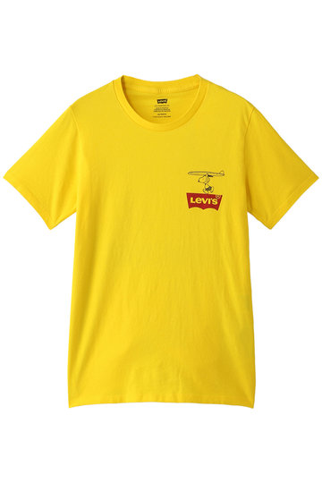 Levi's リーバイス PEANUTS(R) COLLECTION T シャツ イエロー
