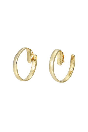 セシル・エ・ジャンヌ/CECILE ET JEANNEの【予約販売】フープイヤリング(ゴールド/DMUN4-GD)
