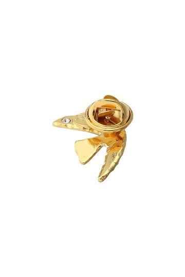 セシル・エ・ジャンヌ/CECILE ET JEANNEの鳩ピンブローチ(ゴールド/DPIN2- COLOMBE GD)