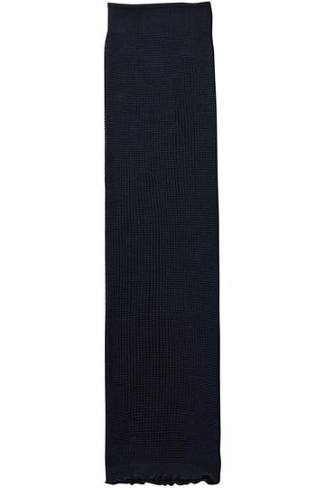 カタクラシルク/Katakura Silkのロングウォーマー(ネイビー/SU191(SLL1910))