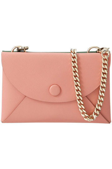 SALE 【30%OFF】 OAD NEW YORK オーエーディー ニューヨーク ASSEMBLY CHAIN CARDLET カードケース グリーン×ブラッシュ