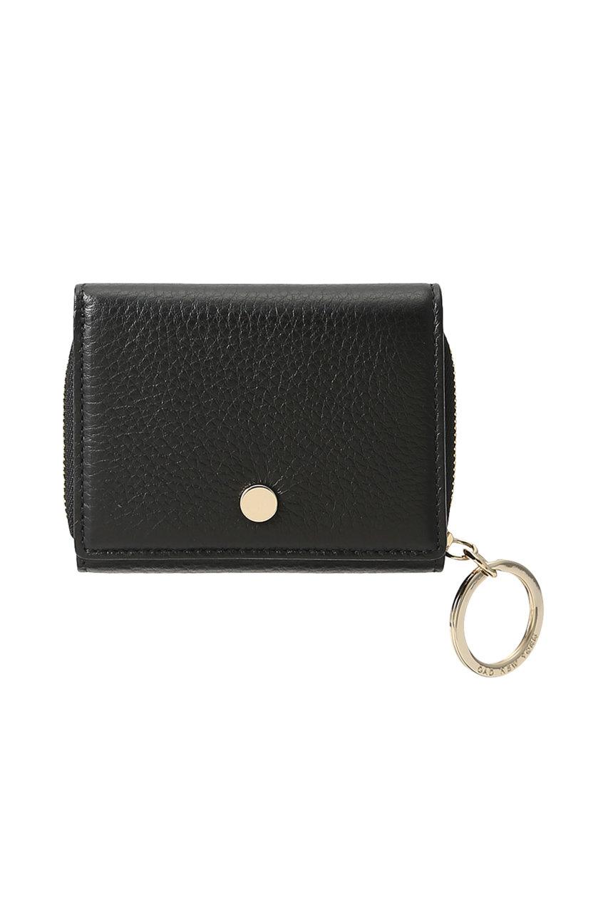 オーエーディー ニューヨーク/OAD NEW YORKのMINI ZIP AROUND WALLET 3つ折り財布(ブラック/OAD019)
