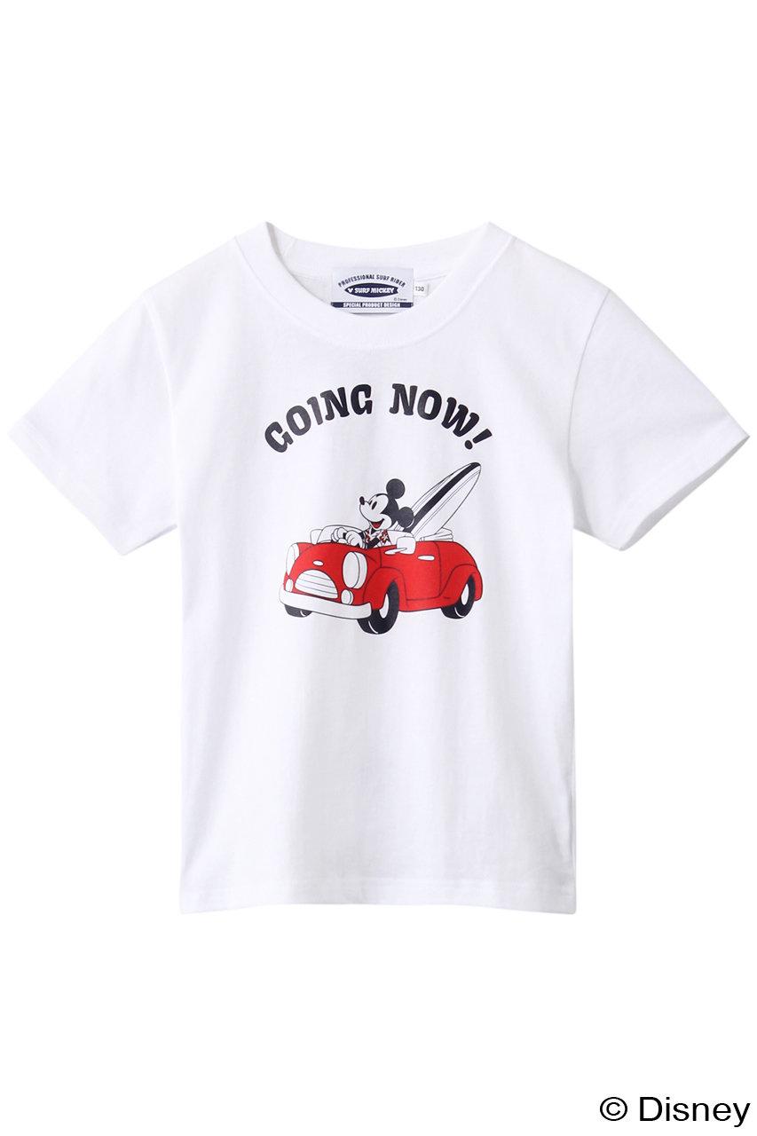 インショア/INSHOREの【KIDS】【SURF MICKEY】Tシャツ(GOING NOW !/SM20SS-TSK02)